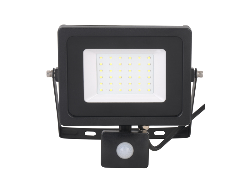 Flood light with sensor-30W