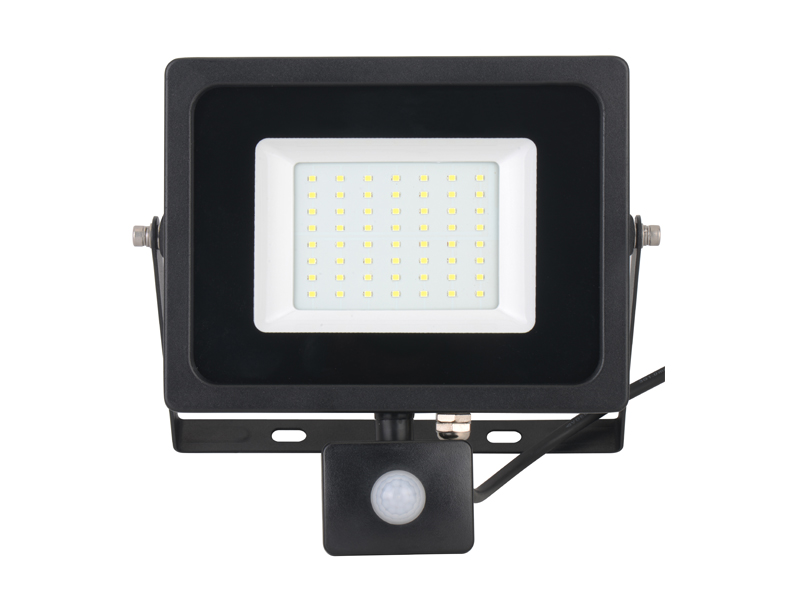 Flood light with sensor-50W